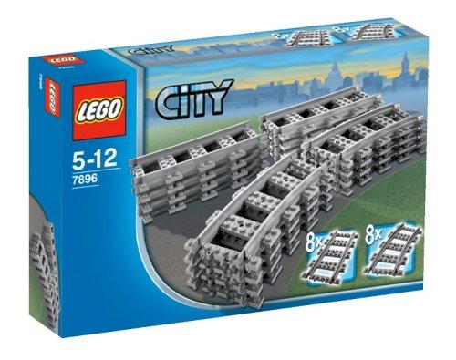 LEGO City 7896 - Gerade und gebogene Schienen