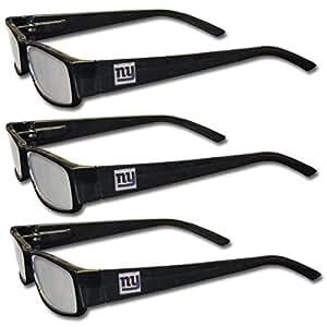 buy nfl new york giants reading glasses 3 pack