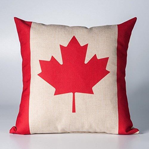 Americano ufficio pausa pranzo cuscino/divano/Union Jack vita cuscino/auto cotone federa, Cotone, W, 45x45cm(18x18inch)versionA