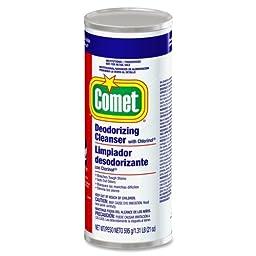 P&G Comet Powder Cleanser with Bleach - Powder - 21 oz (1.31 lb)