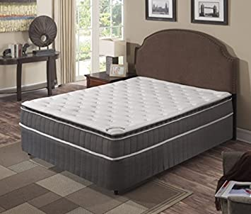 Continental Sleep Mattress,Pillow Top ,Pocketed Coil, Orthopedic Twin Size Mattress , Acura Collection