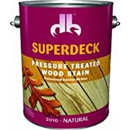 Duckback Prod. DB2010-4 Superdeck Transparent Stain For Pressure Treated Wood