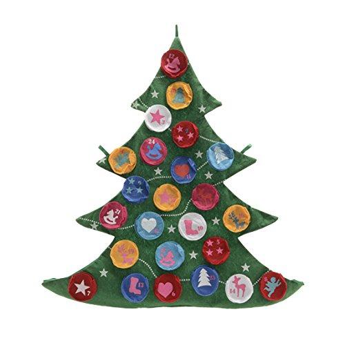 Filz-Adventskalender Baum Advent Weihnachten thumbnail