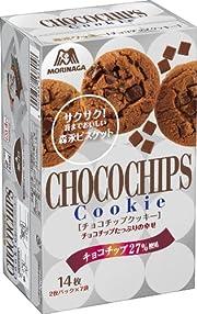 森永 チョコチップクッキー 14枚(2枚パック×7袋)×5個