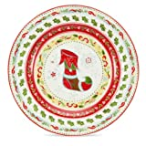 Christmas Wish Tea Plate 17.5cm - Set of 4