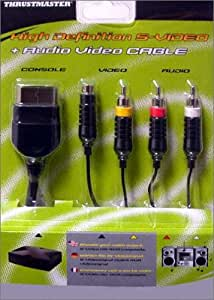 High Definition S-Vidéo + Audio/Video cable