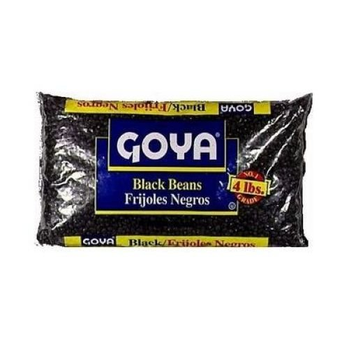 Goya Black Beans - Frijoles Negros 15.5 Oz Pack of 6 | DealTrend