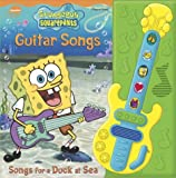 img - for SpongeBob Squarepants: Guitar Songs, Songs for a Duck at Sea (Interactive Music Book) book / textbook / text book