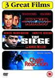 Broken Arrow/The Siege/Chain Reaction [DVD]