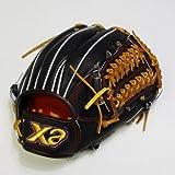 ザナックス 硬式グラブ XGX (エックス・ジー・エックス) 限定品 (内野手用) ブラック×タン BHG-42012-9027