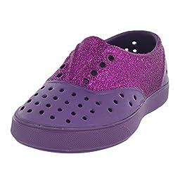 Native Miller Glitter Child Slip On Sneaker (Toddler/Little Kid), Orchid Purple/Orchid Purple/Glitter, 10 M US Toddler