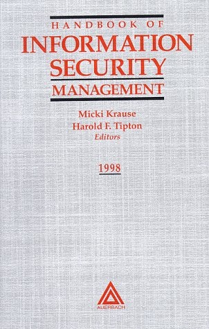 Handbook of Information Security Management