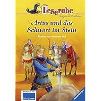 Leserabe - Schulausgabe in Broschur: Artus und das Schwert im Stein