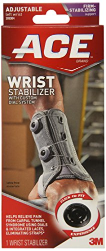 ACE Wrist Stabilizer with Custom Dial System, Left (Ace Bandage Wrist compare prices)