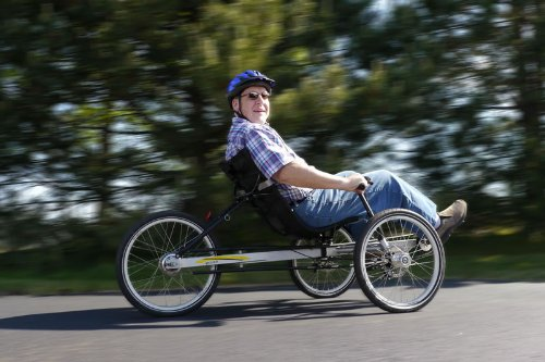 New TerraTrike Rover 3 Speed Recumbent Trike