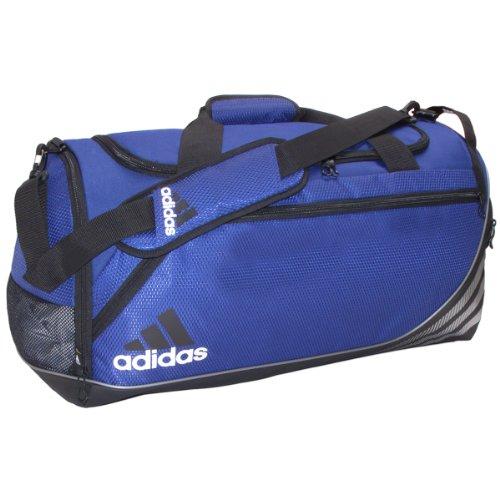 adidas Team Speed Medium Duffel Bag, Cobalt/Black