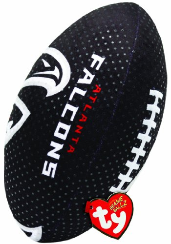 Ty Beanie Ballz NFL RZ Atlanta Falcons Football Plush