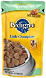 Pedigree Little Champions Complete Chunks in Gravy with Chicken Food for Adult Dogs, 5.3-Ounce Pouches (Pack of 24)