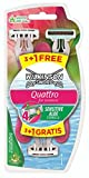 Wilkinson Sword Quattro for Women Sensitive Einwegrasierer