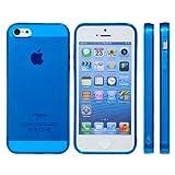 【iphone5/iphone5s対応】mtmd decolor tpuハードシリコン iphone5/5sケース (全16種類)つるつるタイプ/マリンブルー