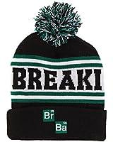Breaking Bad Logo Cuff Knit Pom Bonnet