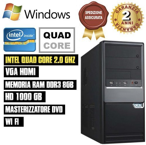 PC-DESKTOP-INTEL-QUAD-CORE-RAM-8GB-HD1TB-DVDHDMI-Wi-Fi-FISSO-COMPLETO-ASSEMBLATO-ATX-500W-CON-SISTEMA-OPERATIVO-WINDOWS