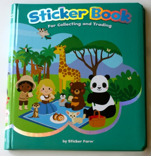 original sticker book for collecting and trading by sticker friends and animals from around the. Black Bedroom Furniture Sets. Home Design Ideas
