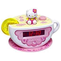 Product Image Hello Kitty Clock Radio with Night Light - KT2055