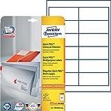 Avery Zweckform 4781 Adressetiketten 25 Blatt weiß