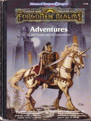 Forgotten Realms Adventures (Advanced Dungeons and Dragons Hardcover Accessory Rulebook)