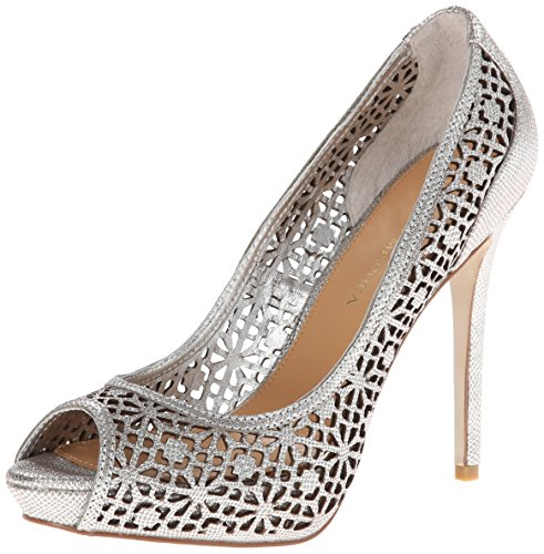 badgley-mischka-junior-femmes-us-8-argente-talons