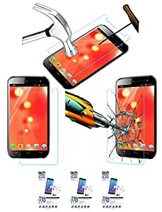 Acm Pack Of 3 Tempered Glass Screenguard For Micromax Canvas 3 A116i Mobile Screen Guard Scratch Protector