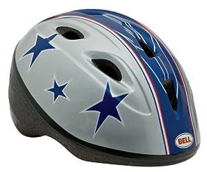 Bell Toddler Zoomer Bike Helmet, Silver Stunt Stars