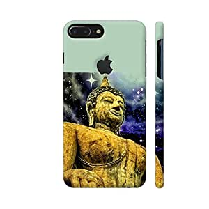 Colorpur Buddha Asia Zen Yoga Designer Mobile Phone Case Back Cover For Apple iPhone 7 plus with hole for logo | Artist: WonderfulDreamPicture