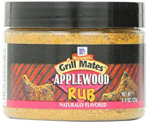 Grill Mates Applewood Rub, 4.41-Ounce Jars (Pack of 12)