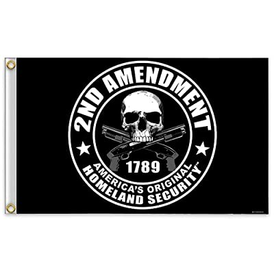 2nd Amendment America's Original Homeland Security Flag by Hot Leathers
