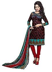 RV Creation Designer Ethnic Fancy Cotton Dress Materials