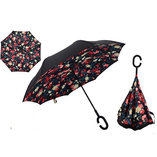 autonorth-double-layer-reverse-outdoor-stick-umbrella-windproof-waterproof-and-self-standing-inside-