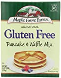 Maple Grove Farms Gluten Free Pancake & Waffle Mix, 16-Ounce Boxes (Pack of 4)