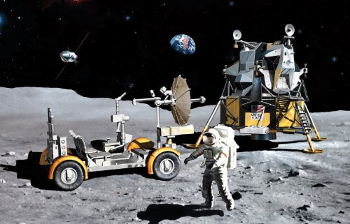 Dragon Models 1/72 Apollo 17