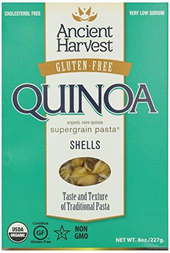 Ancient Harvest Wheat Free Pasta Shells, 8 oz (Corn Free Quinoa Pasta compare prices)