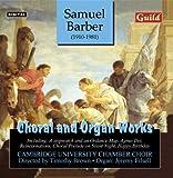 echange, troc Barber, Brown, Filsell - Choral & Organ Works: Agnus Dei / Reincarnations