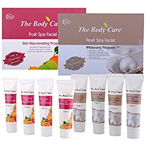 The Body Care Combo Of Pearl Spa Facial Kit + Fruit Spa Facial Kit