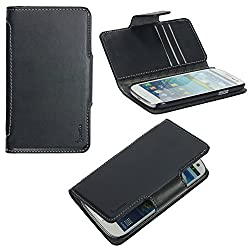 Poetic Slimbook Leather Case for the Samsung Galaxy S III S3 i9300 Black (3 Year Manufacturer Warranty From Poetic)