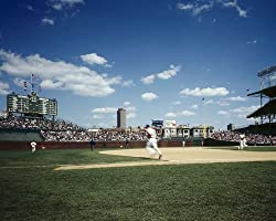 Chicago's Wrigley Field Photograph - Beautiful 16x20-inch Photographic Print by Carol M. Highsmith