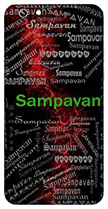 Sampavan (Pure) Name & Sign Printed All over customize & Personalized!! Protective back cover for your Smart Phone : Moto X-Play
