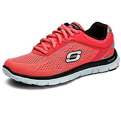 Skechers Women's Hot Pink/Black Love Your Style 11728 6 B(M) US