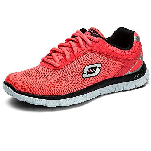 Skechers  Flex AppealLove Your Style,  Sneaker donna, Rosa (Pink (HPBK)), 39