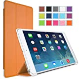 MoKo Apple iPad Mini with Retina Display Case - Ultra Slim Lightweight Smart shell Cover Case for Mini 2 (2013) and Mini (2012 Edition), ORANGE