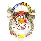 スヌーピー しめ縄飾り(羽子板) 注連飾り お正月飾り